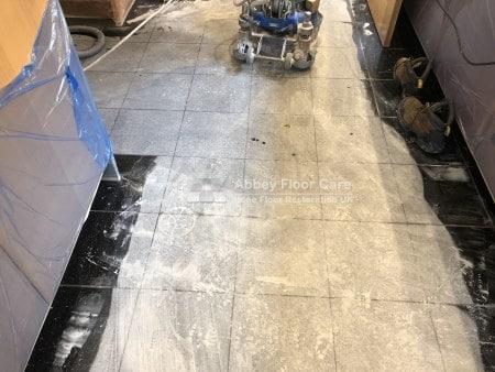 Black Galaxy Granite Restoration Coventry Cv4 Abbey Floor Care