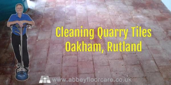 Cleaning Quarry Tiles Oakham Rutland Abbey Floor Care