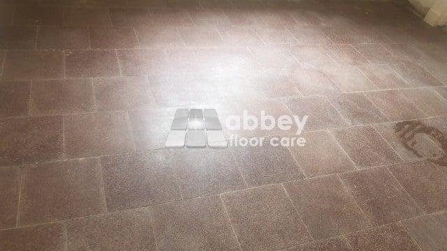 Dull Terrazzo Floor In Ironbridge