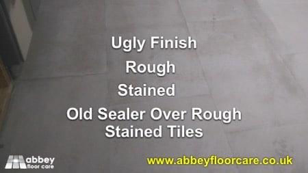 Restoring Limestone Floor Tiles Atherstone Warwickshire CV9