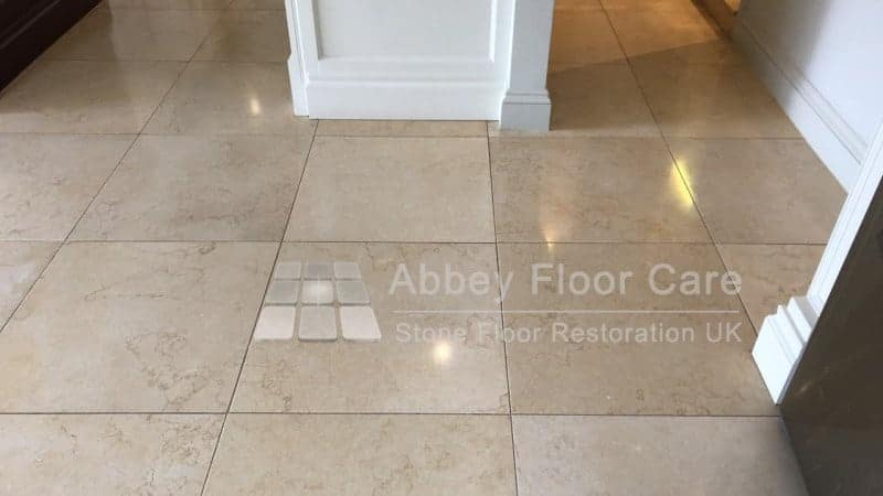 Limestone Cleaning Rowlands Castle Hampshire Abbey Floor Care 01
