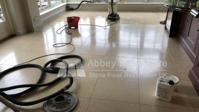 Limestone Cleaning Rowlands Castle Hampshire Abbey Floor Care 03
