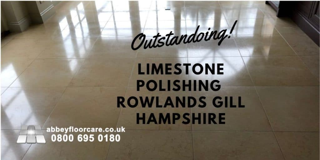 Limestone Floor Cleaning Sealing Rowlands Castle Hampshire Abbey Floor Care