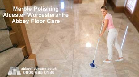 Beautiful marble polished finish in Alcester Worcestershire