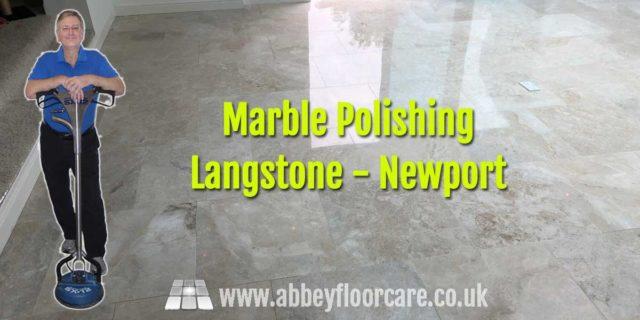 Marble Polishing Langstone Newport Abbey Floor Care