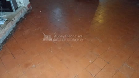 Quarry Tile Waxing High Peak Abbey Floor Care