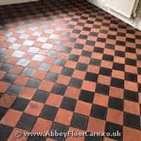 Cleaning Quarry Tiles Dolgellau