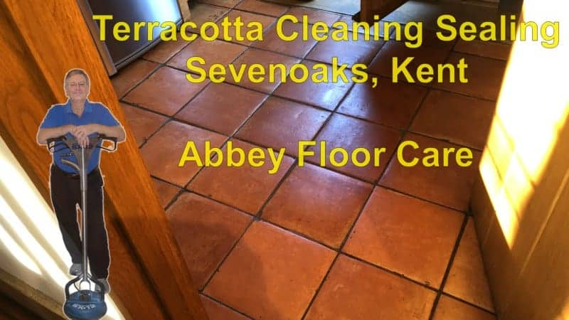 Terracotta Cleaning Sealing Sevenoaks Abbey Floor Care