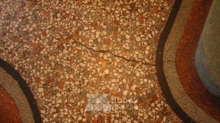 crack in Terrazzo floor in Northampton