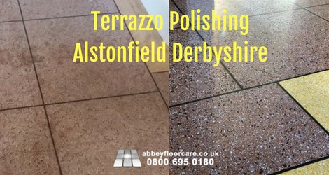 Terrazzo Polishing Repair Alstonfield Derbyshire - Abbey Floor Care