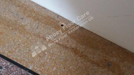 Terrazzo Repair Alstonfield Derbyshire - Abbey Floor Care