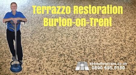 Terrazzo Restoration Project Burton-on-Trent-Abbey-Floor-Care-0900-695-0180