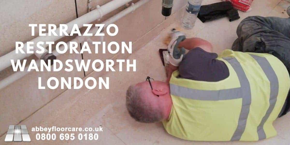 Terrazzo restoration Wandsworth - Abbey Floor Care