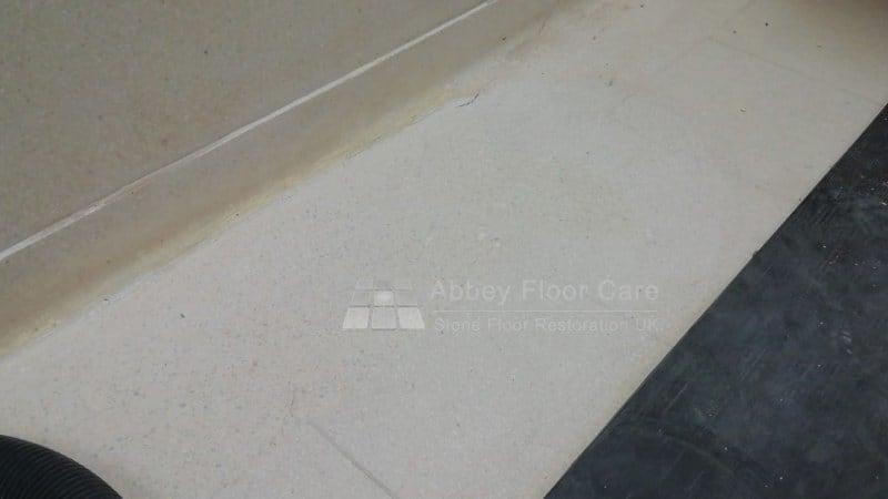 Terrazzo Floor Repair After