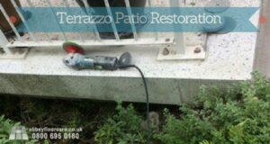 Terrazzo floor restoraiton kinver stourbridge - Abbey Floor Care