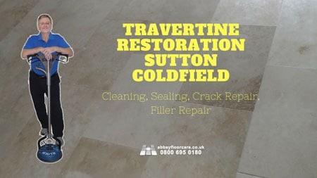 Travertine Restoraiton Sutton Coldfield Abbey Floor Care Featured Image