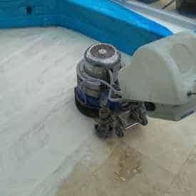 grinding Travertine