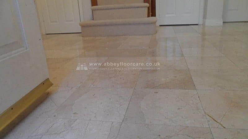 Tumbled Marble Polishing Essex By Abbey Floor Care (12)