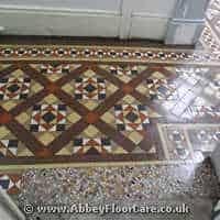 Victorian Minton Tiles Cleaning Kimemuir