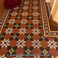 Victorian Minton Tiles Cleaning Blaise Hamlet
