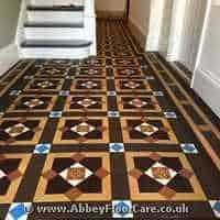 Victorian Minton Tiles Cleaning Clackmannan