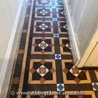 Victorian Minton Tiles Cleaning Flint