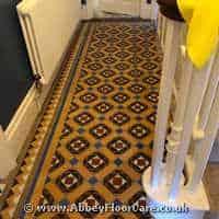 Victorian Minton Tiles Cleaning Tiverton