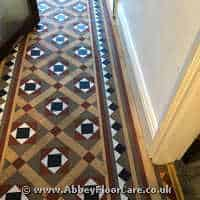 Victorian Minton Tiles Cleaning Pocklington