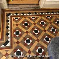Victorian Minton Tiles Cleaning Ratho