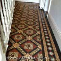 Victorian Minton Tiles Cleaning Carronshore