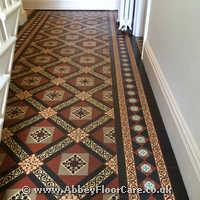 Victorian Minton Tiles Cleaning Leven