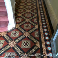 Victorian Minton Tiles Cleaning Sandycroft
