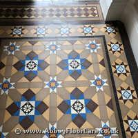 Victorian Minton Tiles Cleaning Hillpark