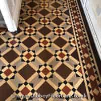 Victorian Minton Tiles Cleaning Auchenfoyle