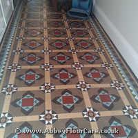 Victorian Minton Tiles Cleaning Guisborough