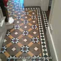 Victorian Minton Tiles Cleaning Kidlington