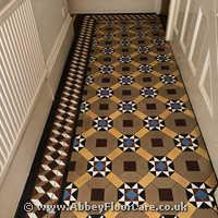 Victorian Minton Tiles Cleaning Church Stretton