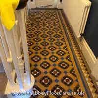 Victorian Minton Tiles Cleaning Killin