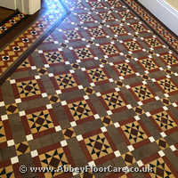 Victorian Minton Tiles Cleaning Leatherhead
