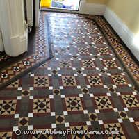 Victorian Minton Tiles Cleaning Gorseinon