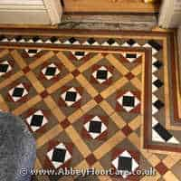 Victorian Minton Tiles Cleaning Pendoylan