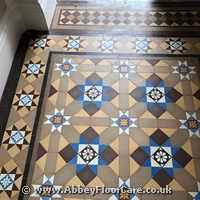 Victorian Minton Tiles Cleaning Renton