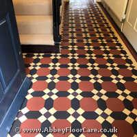 Victorian Minton Tiles Cleaning Rhostyllen
