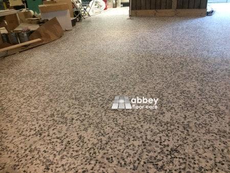 abbey floor care terrazzo grinding service burton on trent staffordshire