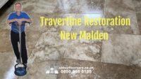 travertine restoration service new malden london abey floor care