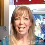 testimonial for Abbey Floor Caare Mrs Alhmbrasani Nottiingham