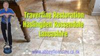 Travertine Restoration Haslingden Abbey Floor Care
