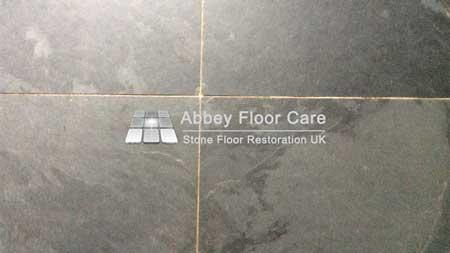 dirty slate floor in matlick derbyshire