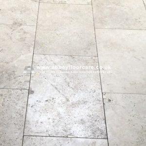 Travertine Floor Tile Cleaning