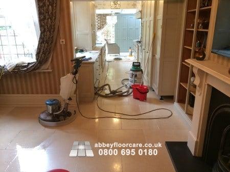 Limestone Polishing Stockton Brook Stoke On Trent Staffordshire St9 Abbey Floor Care 00010